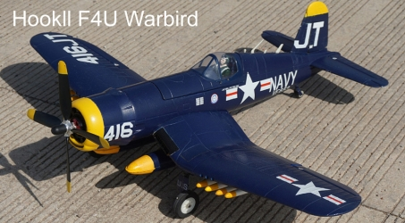 Hookll F4U Warbird 1200mm Wingspan EPO RC Airplane
