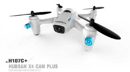 Hubsan X4 Plus H107C+ RC Quadcopter