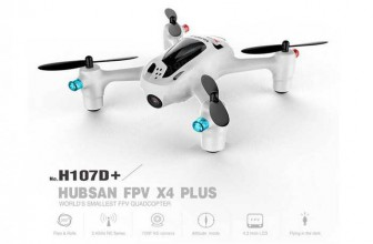 Hubsan X4 Plus H107D+ FPV Quadcopter