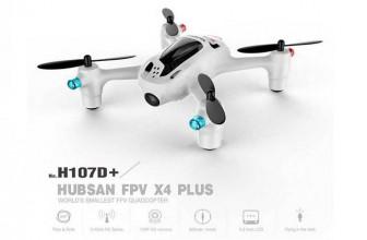 Hubsan X4 Plus H107D+ FPV Quadcopter