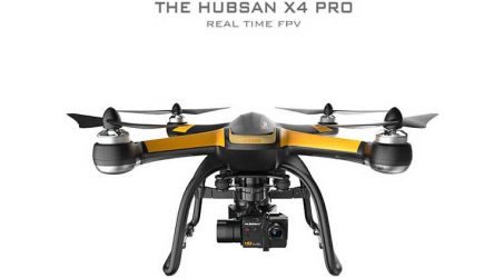 Hubsan X4 Pro H109S With 3 Axis Gimbal RC Quadcopter