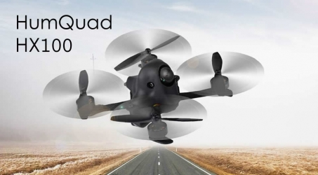 HumQuad HX100 100mm 2-4S FPV Racing Drone