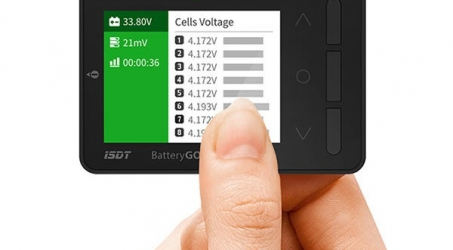 ISDT BG-8S Smart Battery Quick Charge Checker