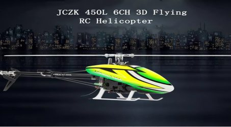 JCZK 450L DFC RC Helicopter RTF