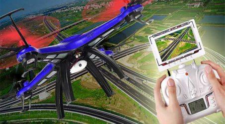 JJRC JJ669 4 ch digital proportional drone