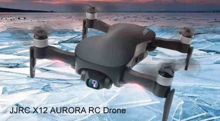 JJRC X12 AURORA 5G WIFI 1.2km FPV GPS Foldable RC Drone