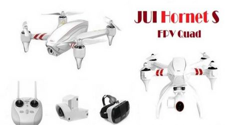 JUI Hornet S Racing With 12MP HD Camera GPS RC Quadcopter