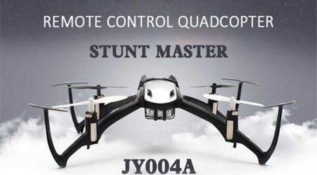JY004A STUNT MASTER White Hexrcopter Flying Video
