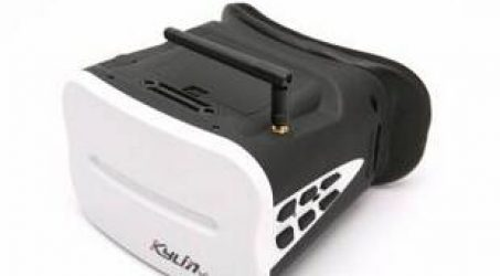 KDS Kylin Vision 5.8G 64CH Full Band FPV Goggles