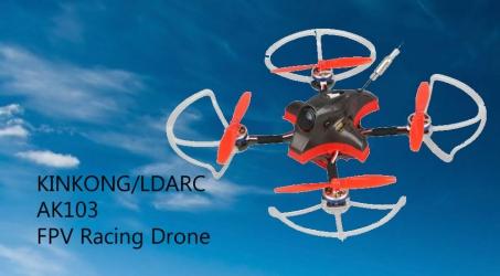 KINKONG/LDARC AK103 109mm 3S Toothpick FPV Racing Drone