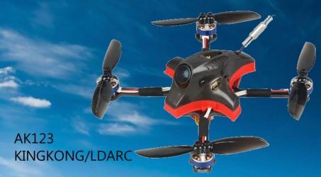 KINKONG/LDARC AK123 122mm 3S Toothpick FPV Racing Drone