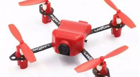 LANTIAN LT105 Pro Micro FPV Racing Quadcopter BNF With 800TVL Camera