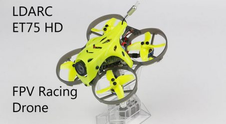 LDARC ET75 HD 74mm F4 OSD 3S FPV Racing Drone