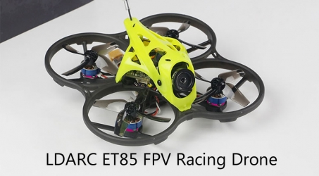 LDARC ET85 HD 87.6mm F4 4S Cinewhoop FPV Racing Drone