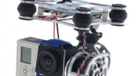 Light 2 Axis Brushless Gimbal With BGC3.0 Plug and Play Stabilizer