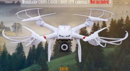 MJX X101 X-SERIES 720P FPV Quadcopter