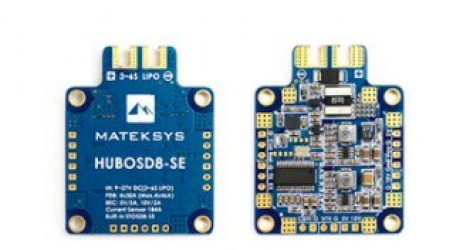 Matek Systems HUBOSD8-SE PDB Dual BEC For RC Multirotors