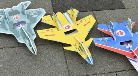 Mini SU27/J-15/F-22 RC Airplane