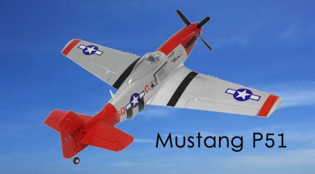 Mustang P51 1500mm Wingspan RC Airplane