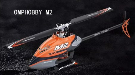 OMPHOBBY M2 RC Helicopter – Orange