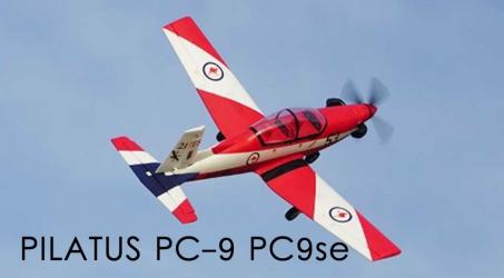 PILATUS PC-9 PC9se 1200mm Wingspan EPO RC Airplane