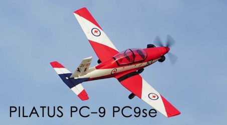 PILATUS PC-9 PC9se 1200mm Wingspan EPO RC Airplane