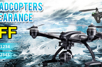 20% Off for RC Quadcopter Clearance, Buy Now!