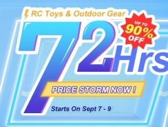 RC Toys up to 90% off on Banggood's 72 Hours Sale
