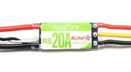 Racerstar RS20A 20A Blheli_S 2-4S Lipo ESC