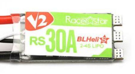 Racerstar RS30A V2 New 30A 2-4S Blheli_S ESC