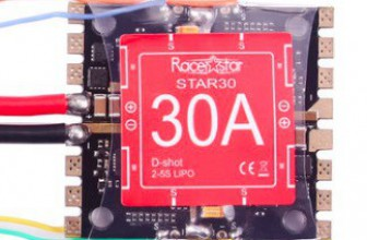 Racerstar Star30 30A Blheli_S 2-5S 4 In 1 Detachable ESC