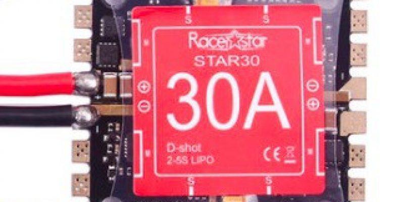 Racerstar Star30 30A Blheli_S 2-5S 4 In 1 Detachable ESC