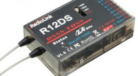 Radiolink R12DS 2.4G 12CH Dual Antenna Receiver