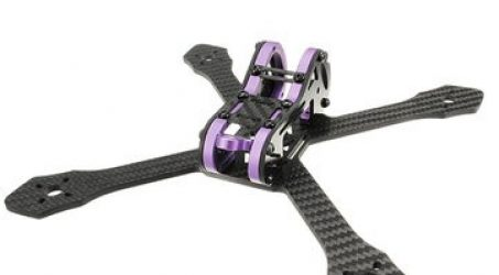 Realacc Purple215 215mm 4mm Arm Thickness Carbon Fiber Frame Kit