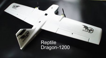 Reptile Dragon-1200 FPV Flying Wing RC Airplane