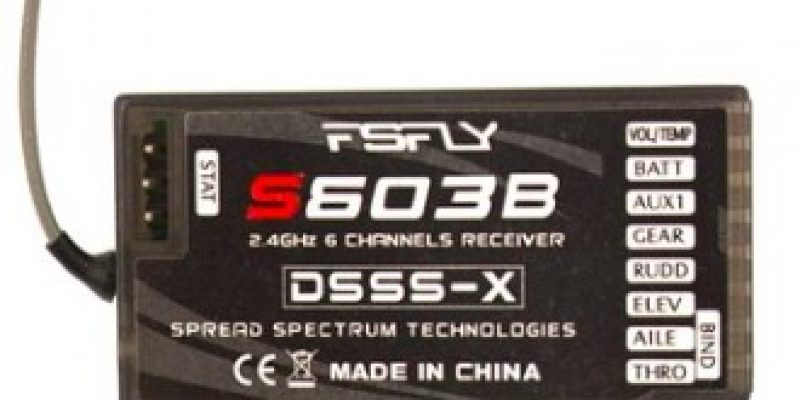 Upgraded 2.4G 6CH S603B DSM2 DSMX Compatible Receiver