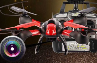 SKY HAWKEYE 1315W FPV Real Time Transmission RC Drone