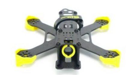 STAR POWER SP-180X 180MM 3K Pure Carbon Fiber Frame Kit