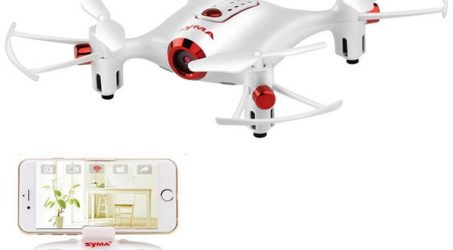SYMA X20W WiFi FPV Quadcopter with 0.3MP Camera