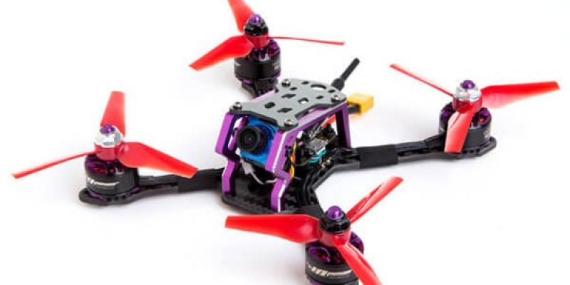 Skyzone S140 FPV Racing Drone with Foxeer Micro Camera