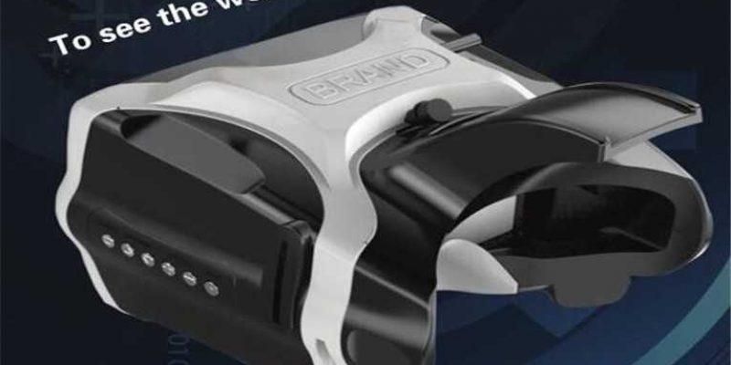 SJ-V01 5.8G 40CH FPV Goggles