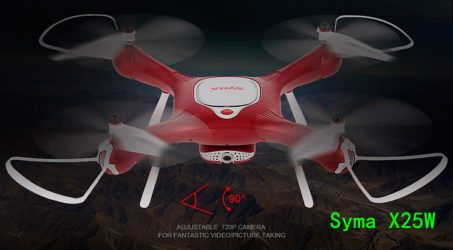 Syma X25W Wifi FPV 720P RC Quadcopter RTF