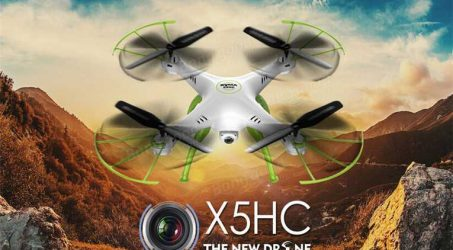 Syma X5HC With 2MP HD Camera RC Quadcopter