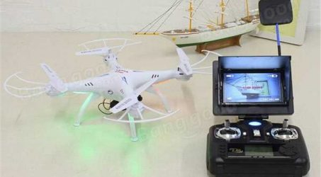 Syma X5C-1 X5SC 5.8G FPV 720P Camera with Monitor Real Time Transmission