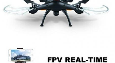 Syma X5SW Wifi Control FPV Quadcopter With 0.3MP Camera