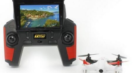 TDR Robin FPV Drone With Built-in 4.3″ LCD and 2MP 720P Camera