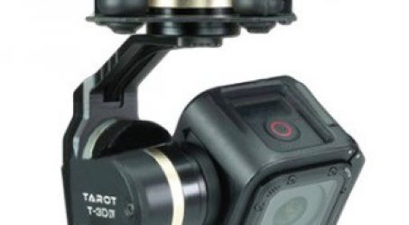 Tarot TL3T02 Brushless Gimbal for Gopro Hero 4 SESSION Camera