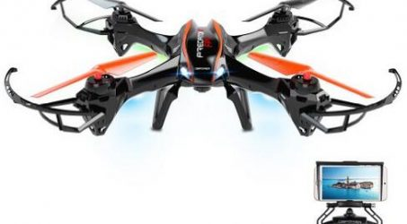 DBPOWER UDI U842 Predator WiFi FPV Drone With 720P Camera