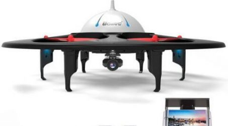 UDI U845 WiFi FPV UFO Quadcopter with HD Camera