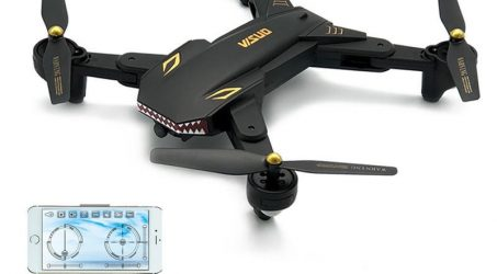 VISUO XS809S Battles Sharks 720P WIFI FPV Foldable Quadcopter RTF